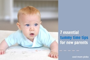 7 essential tips for tummy time to make it easier for babies. And parents.