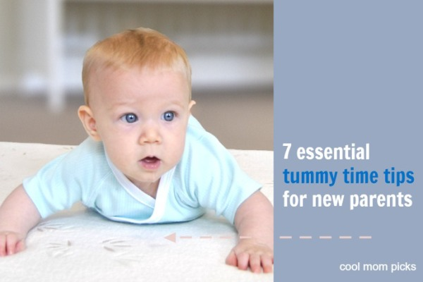 7 essential tips for tummy time | cool mom picks