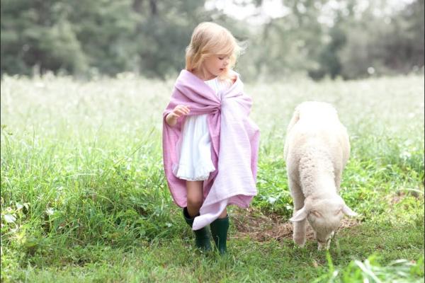 Aden + Anais Pure Merino luxury swaddling blankets | Cool Mom Picks