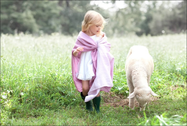 Aden + Anais Pure Merino luxury swaddling blankets | Cool Mom Picks