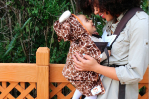 Baby carrier covers that make instant Halloween costumes