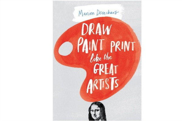Draw Paint Print Like the Great Artists activity book for kids