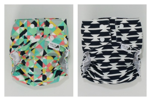 Carissa Halbmaier Handmade diaper covers at the Cool Mom Picks Indie Shop