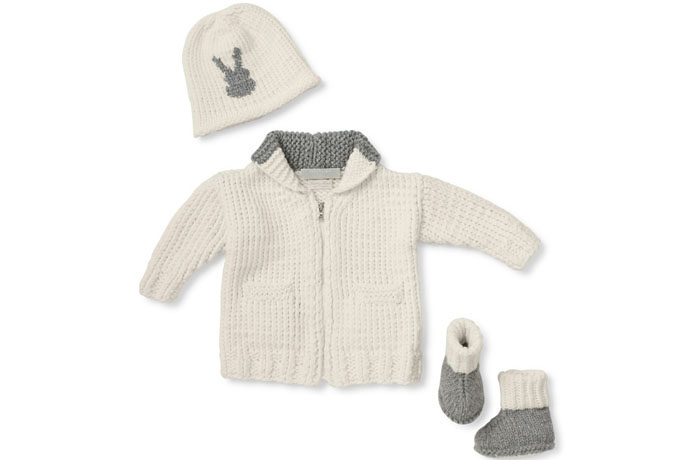 Heirloom cashmere for babies so gorgeous, you might never take it out of the box.