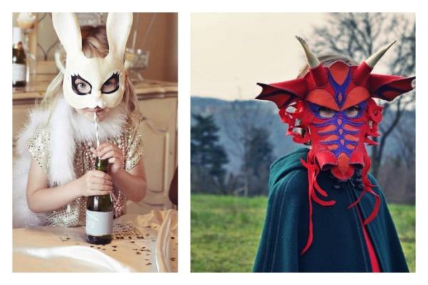 Coolest handmade Halloween masks on Etsy