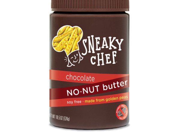 Nut free snacks: Chocolate No-Nut Butter by The Sneaky Chef