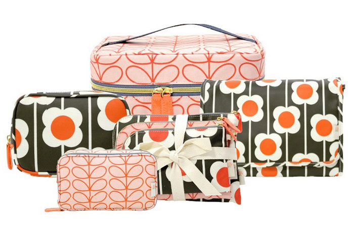 Orla Kiely Etc affordable line of travel bags now at Target