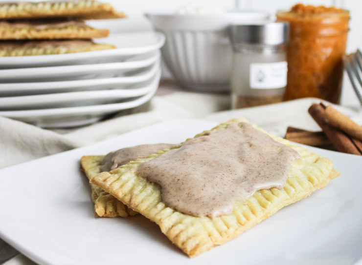 Pumpkin spice recipes: Pumpkin Spice Pop Tarts at Southern Fatty