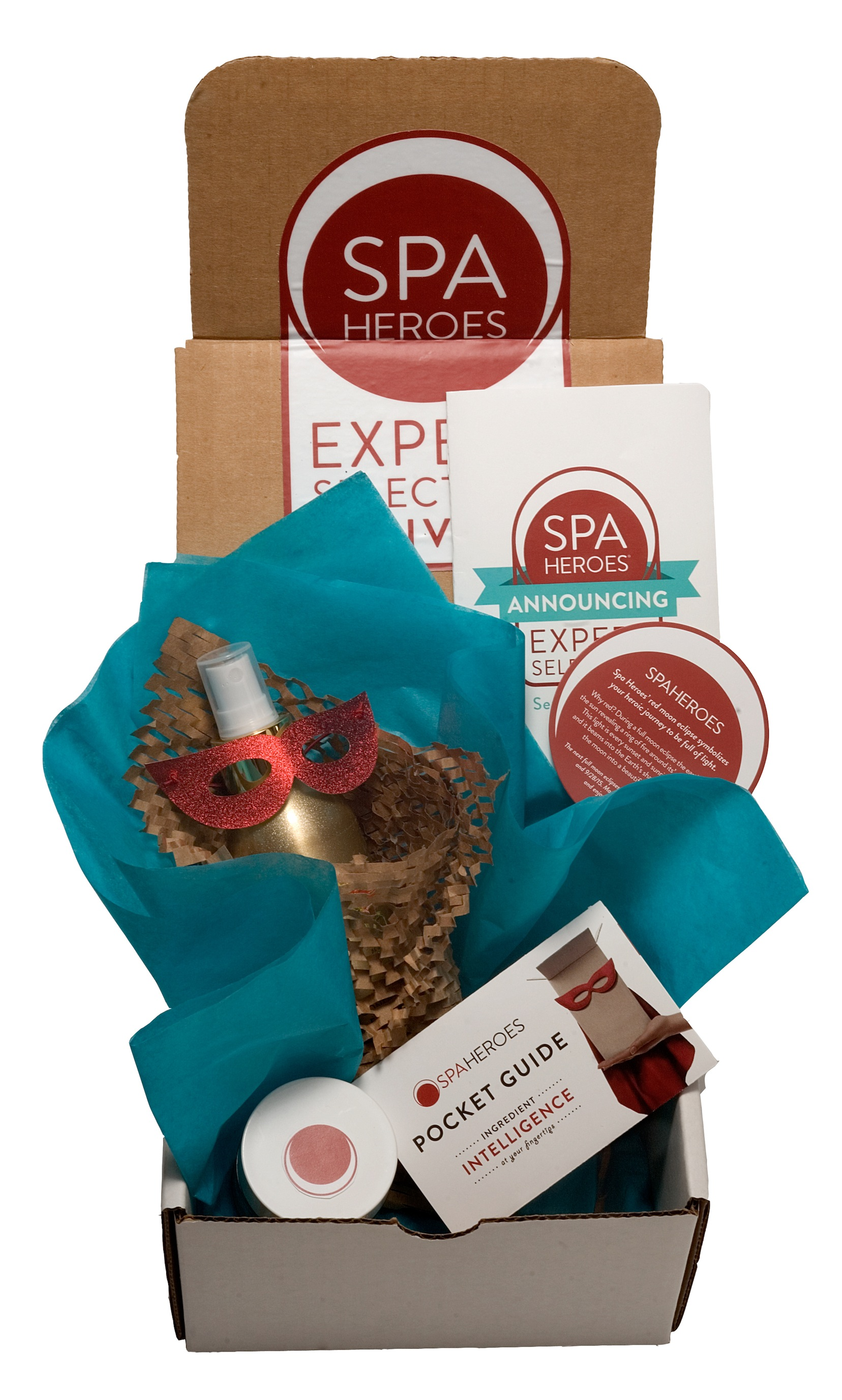 Spa Heroes beauty subscription service: Full-size products!