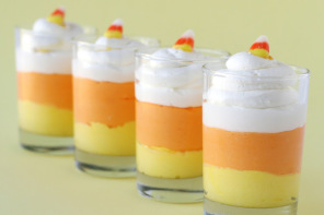 5 candy corn recipes — because you can never get enough of a good thing.
