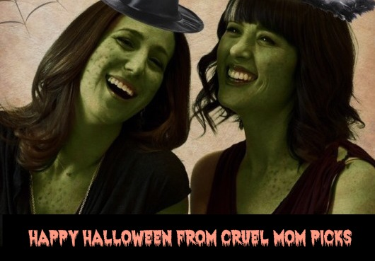 Cruel Mom Picks says Happy Halloween!