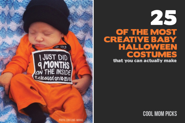25 of the most adorably creative DIY baby costumes for Halloween