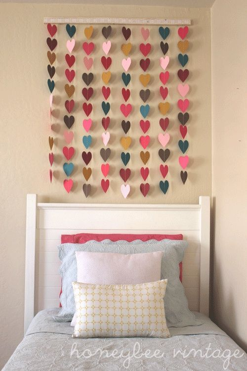 DIY wall art idea from Honeybee Vintage
