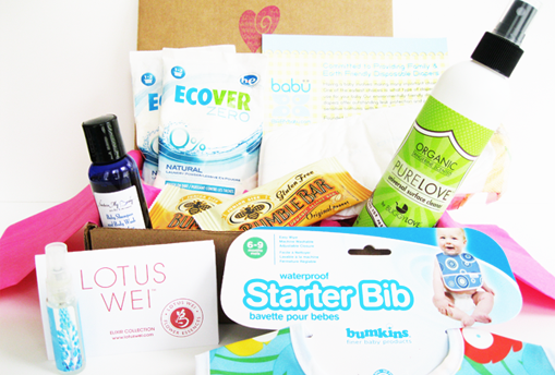 Ecocentric Mom subscription gift boxes for moms