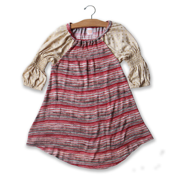 Frankie and Sue's comfy fall dresses for girls: California Dreamin'.