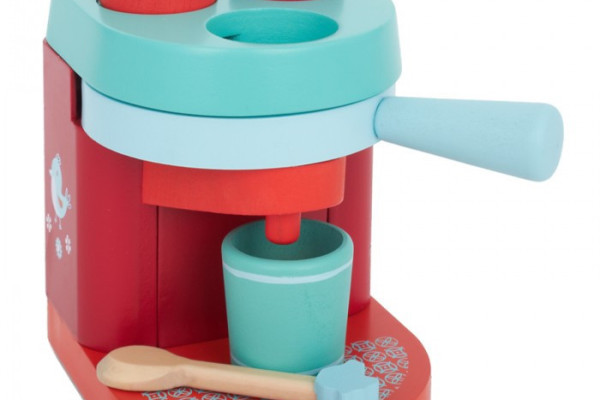Wooden Babyccino Machine cappuccino maker toy - Djeco | Cool Mom Picks