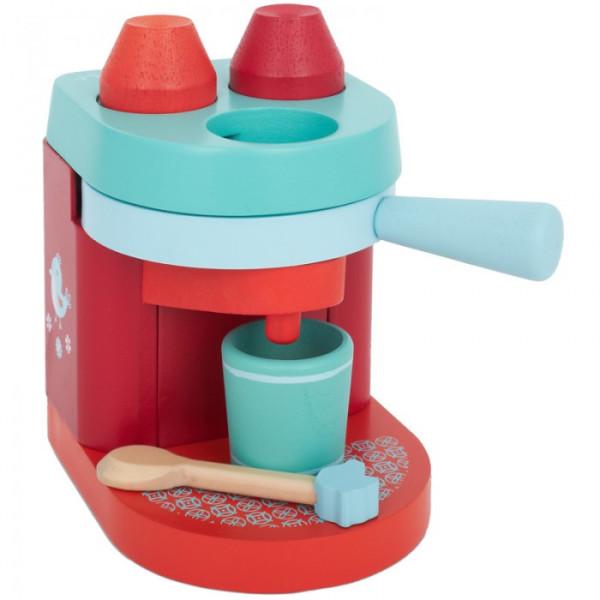 Wooden Babyccino Machine cappuccino maker toy - Djeco | Cool Mom Picks