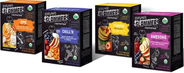 Organic Slammers superfood snacks: Perfect school lunchbox addition