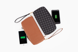 The Power Wallet: a phone charging wallet!