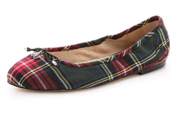 Sam Edelman plaid ballet flats: Best Ways to Wear Plaid