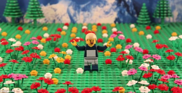 Sound of Music recreated in LEGOs
