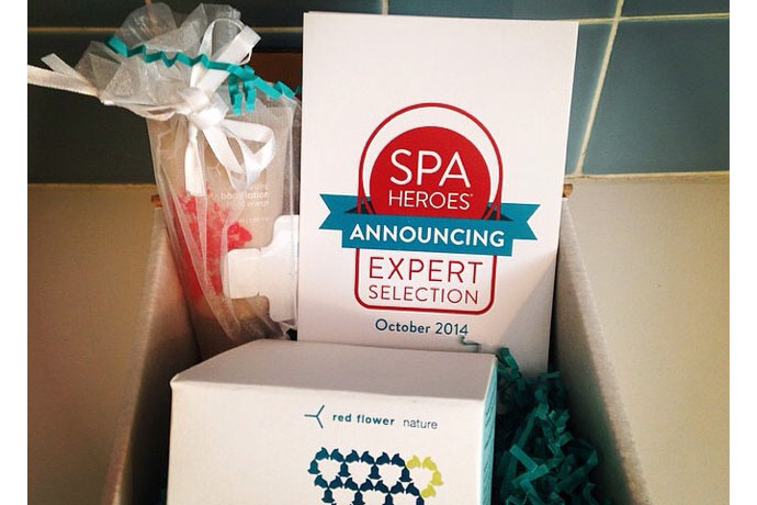 If you can't get to the spa, Spa Heroes brings the spa to you. In a box.
