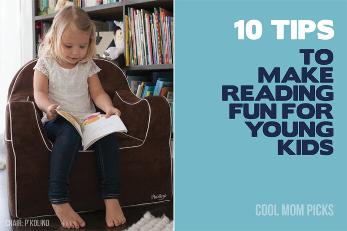 10 tips to make reading fun for young kids