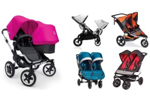 The 5 best double strollers from our favorite baby gear pros. (And a sneak peek at the newest ones coming out!)