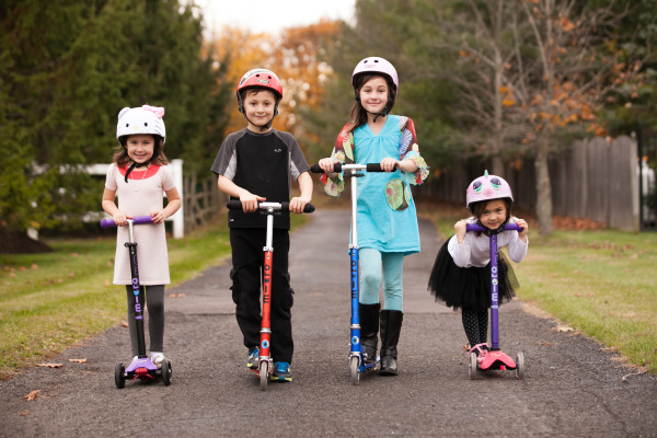 Micro Kickboard scooters make the best first scooter for kids