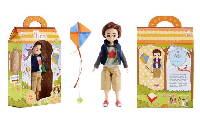 Well Lottie da, the newest Lottie doll is a boy