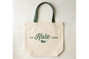Kale just got a whole lot cooler. Or at least funnier.