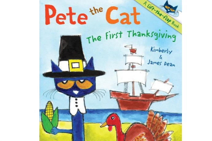 Pete the Cat: The First Thanksgiving book for kids