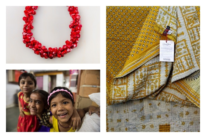 To the Market: Fashionable gifts and accessories that reinvent women's lives.