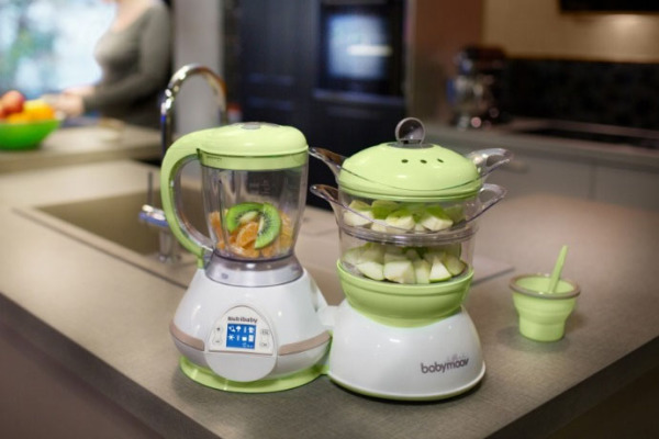 Babymoov Nutribaby multitasks as a baby food processor, steamer, cooker and more