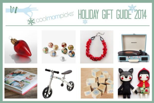 The Cool Mom Picks 2014 Holiday Gift Guide with more than 200 ideas for everyone on your list!