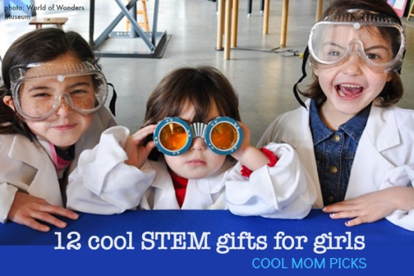 12 cool STEM gift ideas for girls (and hey, boys too.)