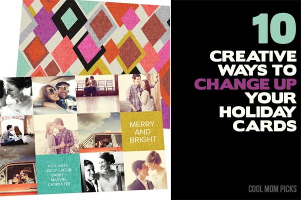 10 creative ways to change up your holiday cards