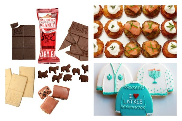 Edible gifts for Hanukkah at Cool Mom Picks