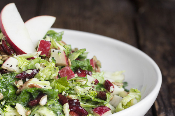 Fall salad recipes: Kale Super Salad at Seasons and Suppers