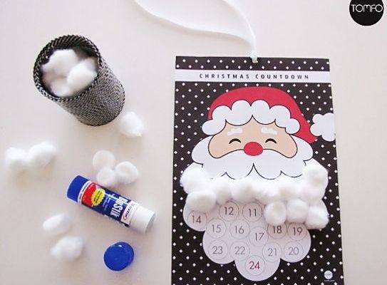 Free printable advent calendar for kids | Cool Mom Picks
