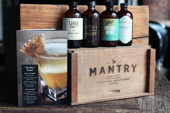 Mantry Craft Cocktails at Home gift crate: Perfect for holidays