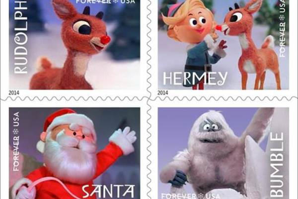 rudolph-postage-stamps