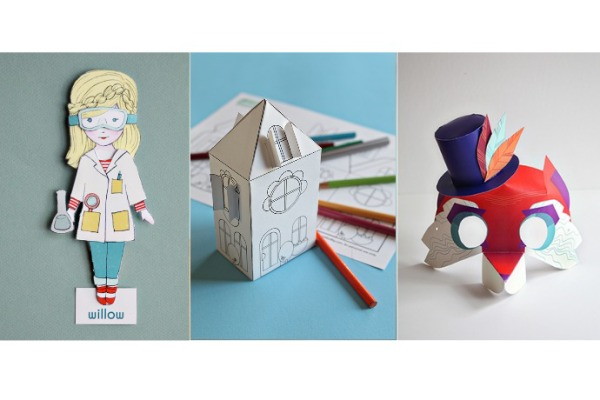 Printable toys now at the Smallful shop