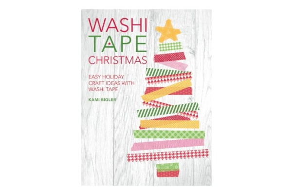 A Washi Tape Christmas by Kami Bigler covers your washi tape Christmas craft and holiday project needs!