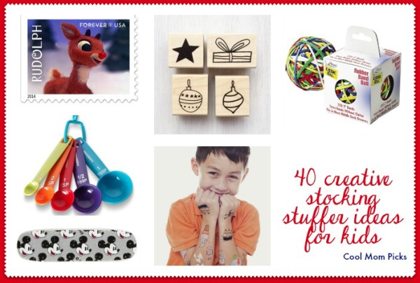 40 creative stocking stuffer ideas for kids | Cool Mom Picks