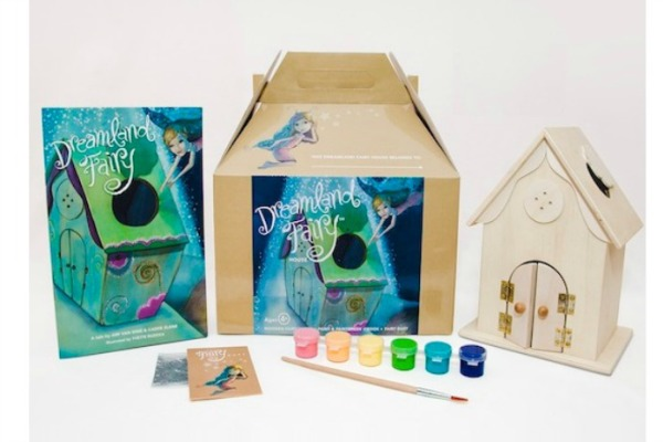 Dreamland Fairy craft kit make great fairy gifts for kids!