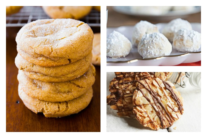 5 crazy easy Christmas cookie recipes that make a perfect last-minute treat for Santa.