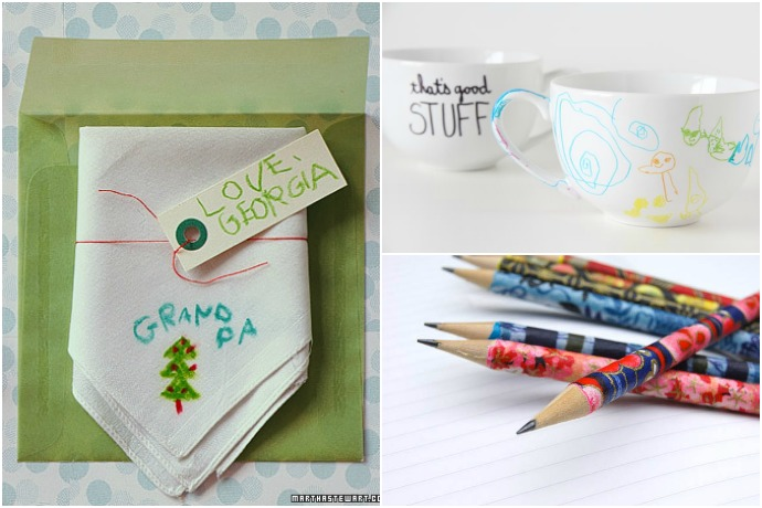 Great handmade craft gifts that kids can make themselves