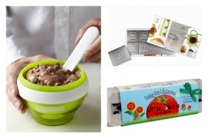 Holiday food gifts for future chefs—or any kid who likes ice cream and chocolate.