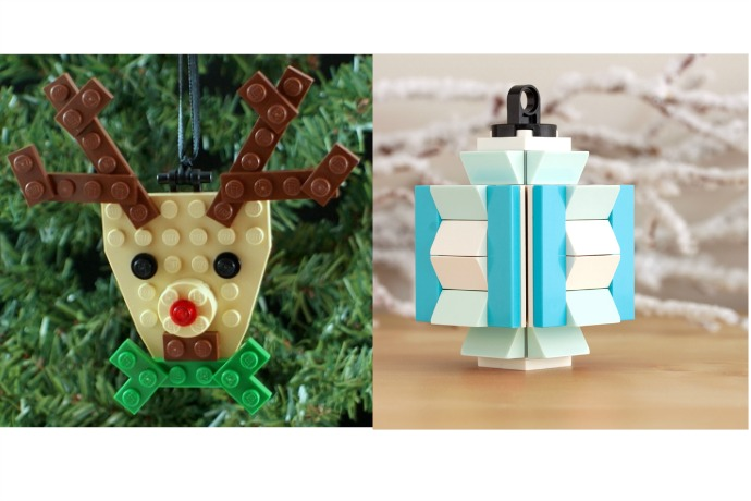 LEGO ornaments for your Christmas tree